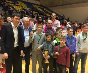 Трансляція фінальних ігор Харківської шкільної баскетбольної ліги сезону 2018/2019